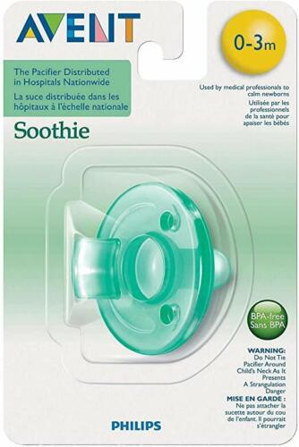 0-3 Months Philips Avent Soothie Pacifier 1 Count Green