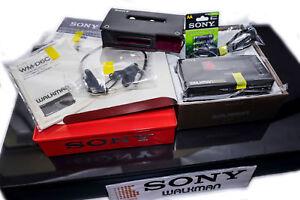 LOOK-NEW-SONY-WM-D6C-MDR-51-Phones-Walkman-Professional-TAPE-Cassette-RECORDER
