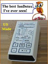 ELPIDs- Electro-Pulse Ion Detox Ionic Detoxifying Machine aqua foot spa bath chi