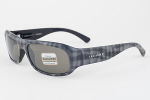 eef7da562766 Image is loading Serengeti-Genova-Gray-Plaid-555nm-Polarized-Sunglasses-7450