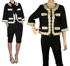 ConMiGo London C001 pearl embroidered classic jacket