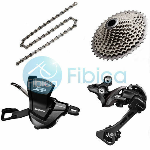 New Shimano Deore XT M8000 11speed Drivetrain Group Groupset 4042t46t