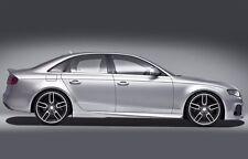 Caractere Audi A4/S4 Side Skirt Pair B8/B8.5 2009-2016