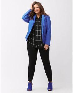 24 Bryant Jacket Blazer Modernist The Plus Blu Jacket New Lane Size Sz PHw5W7q