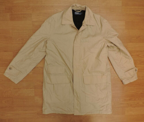 Men's Polo Waterproof R4 Lauren Beige Medium Coat Rain 12 Ralph xxnrBpw