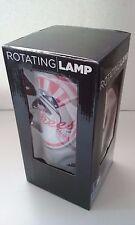 New York Yankees Plastic Plug-in Rotating Lamp NIB MLB Wincraft Logo