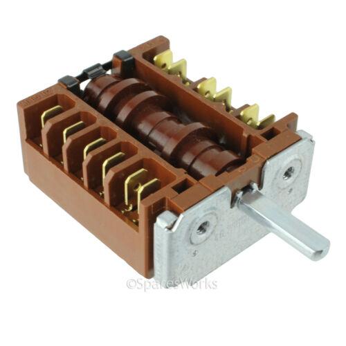 Genuine AMICA Forno Fornello Selector Switch Unit 51EE1.30 PFG pezzo di ricambio