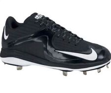 Nike Air MVP Pro Metal 2 Mens Black/White Baseball Cleats Size 13