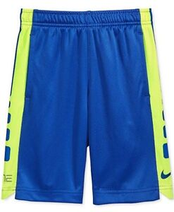 Nike Little Boys Athletic Shorts Game Royal Elite Volt NEW