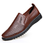 Summer-Business-Men-039-s-Breathable-Hollow-Out-Slip-On-Shoes-Casual-Leather-Shoes thumbnail 13