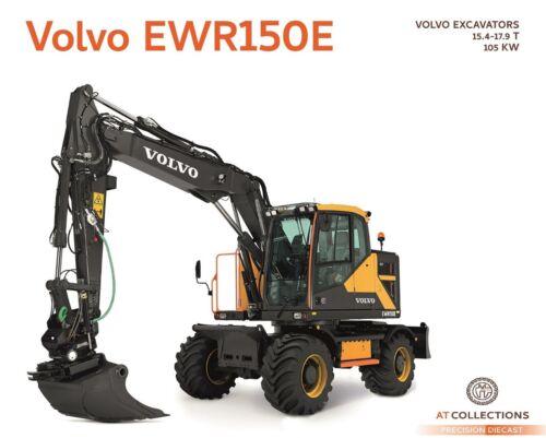 AT Collections 1//32 Volvo EWR150E Excavator Steelwrist Tiltrotator AT3200100