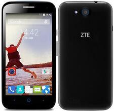 "Unlocked ZTE Blade  QLux 4G LTE 4.5"" LCD 1GB RAM 8GB Storage 8MP Blue Tick"