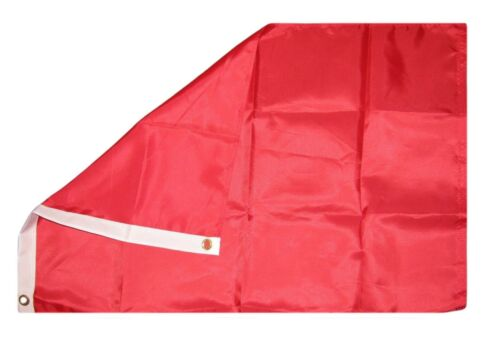 2x3 Solid Neon Red Advertising Rough Tex Knitted Flag 2/'x3/' Banner