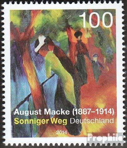 FRD FR.Germany 3103 unmounted mint never hinged 2014 August Macke