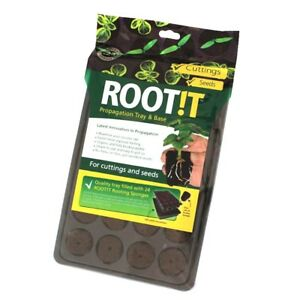 NEW-HYDROGARDEN-ROOT-IT-PROPAGATION-AND-TRAY-24-CELL-FEXI-PLUGS-IN-TRAY