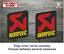 Sticker-Vinilo-Decal-Vinyl-Aufkleber-Adesivi-Autocollant-Akrapovic-Exhaust-LOGO2 miniatura 1