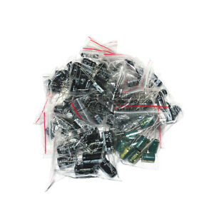 Kit-Set-30Values-1uF-1000uF-50V-25V-16V-10V-Electrolytic-Capacitor-USA-SHIP