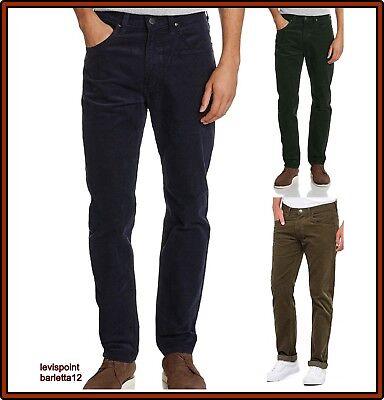 Lee pantaloni da uomo in di velluto a coste jeans daren invernali elasticizzati   eBay