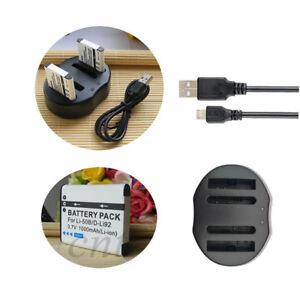 LI-50B-Battery-Charger-For-Olympus-Tough-6020-TG-610-TG-810-TG-820-6010-Camera