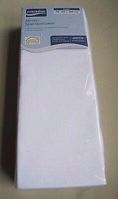 Bettwaren, -wäsche & Matratzen Möbel & Wohnen Methodisch Nip Meradiso Sanfor Stricken Angepasst Einzelbett Jersey Blatt 90-100 X 200 Cm