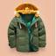 Mode-enfants-VESTE-Avec-Capuche-Parka-Matelasse-Manteau-Garcon-hiver-manteau-Taille-104-146 miniature 5