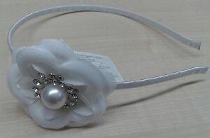 più recente migliori offerte su belle scarpe CERCHIETTO bianco accessori capelli cerimonia o PRIMA ...