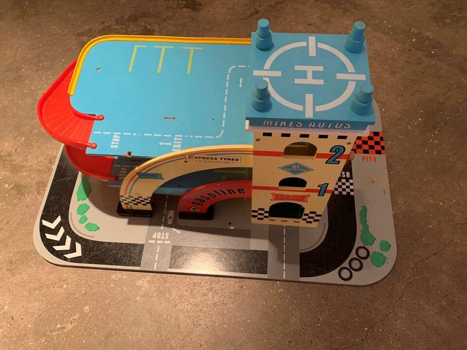 Garage, Bilgarage, Le Toy Van