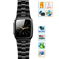 Tw810 1.6 Tft Touch Screen Watch Cell Phone With Camera Unlocked Black