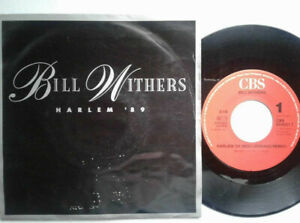 "Bill Withers / Harlem '89 / 7"" Vinyl Single 1989 mit Schutzhülle"