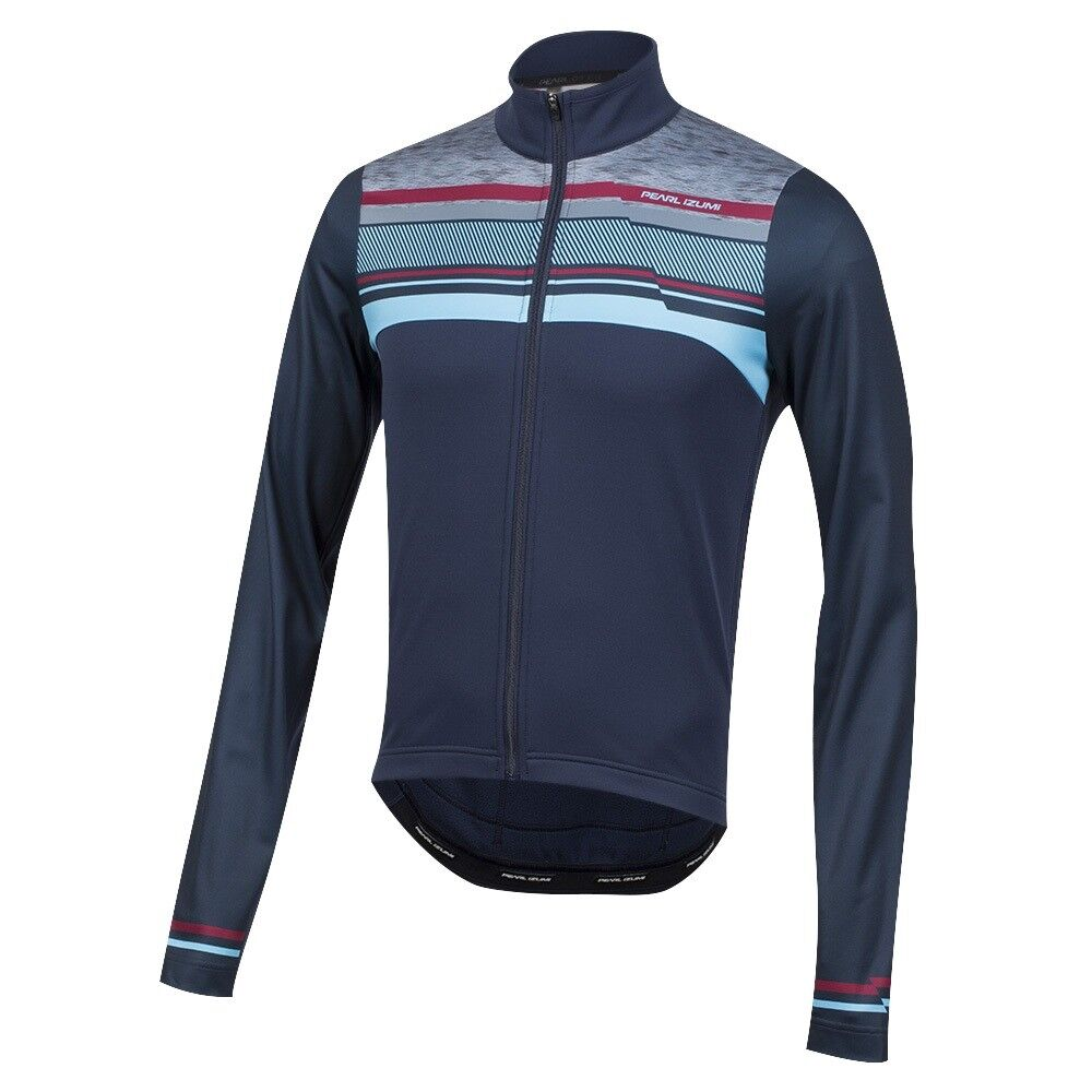 Pearl Izumi Select  Thermal LTD Cycling Bike Jersey Drift Eclipse bluee XL  cheap sale