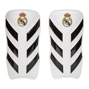 Real Madrid Pro Lite Fußball Schienbeinschoner Training Weiß Unisex adidas