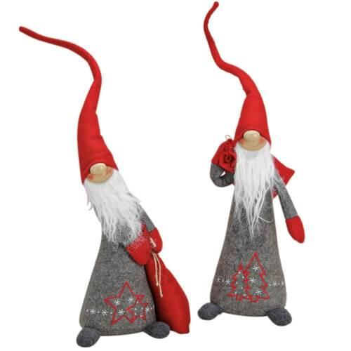 Weihnachtswichtel Wichtel Deko Figur 58 cm wunderschöne Weihnachtsdeko 1 Stk.