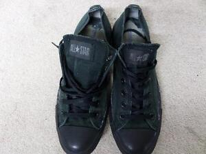 Converse-All-Star-Ox-Style-Trainers-Mens-EU-41-5-UK-8-Black-Grade-C-AB648