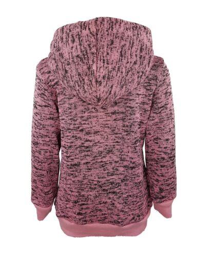 Pailletten warmer Mädchen Kapuzen Pullover Pulli Sweatshirt *NEU* MS027a