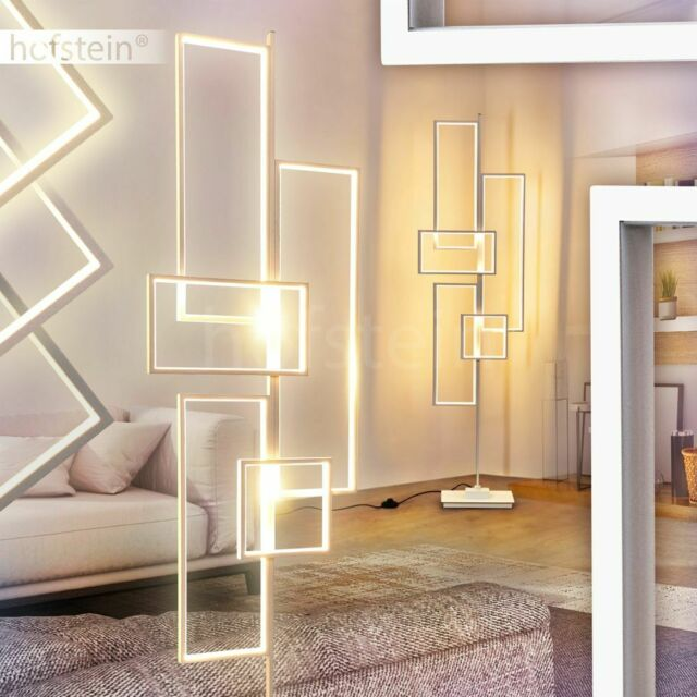 LED Stehlampe Fernbedienung Stand Boden Leuchten Büro Wohn Zimmer Beleuchtung