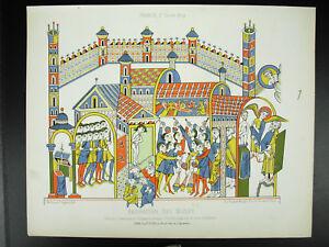 Adoration-of-Idols-Ap-Haymon-D-039-Halberstadt-Xe-Century-Litho-Xixth-1858-Hangard