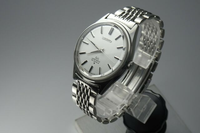 Vintage 1969 JAPAN SEIKO LORD MATIC 5601-9000 23Jewels Automatic.