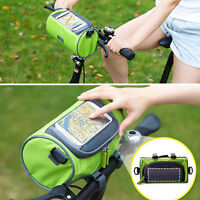 CYCLING BIKE BICYCLE FRAME IPHONE HOLDER PANNIER MOBILE PHONE CASE BAG POUCH NEW
