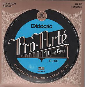 Juego-de-Cuerdas-ProArte-EJ46-Guitarra-Clasica-Nylon-Tension-HARD-FUERTE