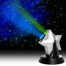 Laser Stars Projector Hologram Light Show Blue Night Cloud Nebula - Light show for bedroom