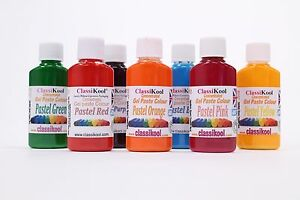 Classikool-30g-Pots-of-Pastel-Colouring-Gel-Paste-for-Icing-amp-Sugarpaste-Colours