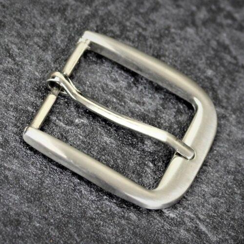 Remplacement boucle de ceinture tofit Hommes Argent Laiton Métal Gris 38,40,41mm Formel