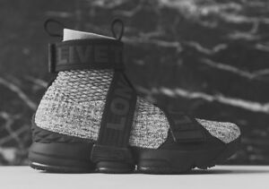a8f453abd2d7 Image is loading Nike-LeBron-15-XV-Lifestyle-Kith-Concrete-Ronnie-