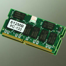 New 512MB PC133 133MHZ 144pin CL3 Sodimm SDRAM Laptop Notebook Memory 16 Chips