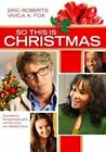 so This Is Christmas 0014381770629 DVD Region 1