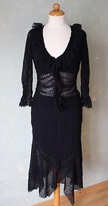 De Deux Gr Gothik 38 Toi Pièces T2 Robe M Transparents Noire Points Morgan aqAn5xwF