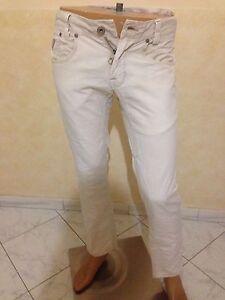 Pantalone-GUESS-Taglia-size-30-UOMO-pants-man-jeans-uomo-cotone-originale-P-1575