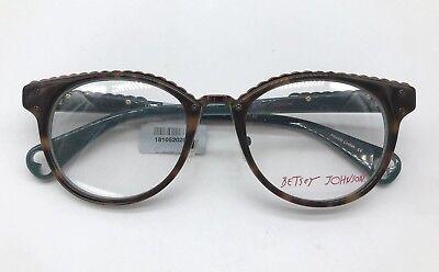 d10b5dccdaf Betsey Johnson Luscious Lennon BJ0164 Designer Frames 50-19-140 Tortoise  Glasses