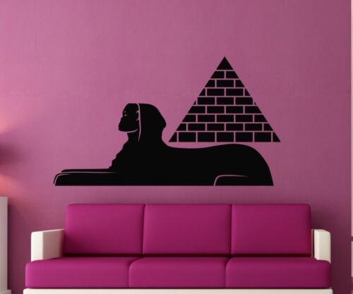 Wandtattoo Sphinx Pyramide Ägypten Aufkleber Wand Dekoration Sticker 1M494