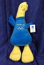 "Phevos Athens Olympics 2004 Plush Mascot Stuffed Animal Toy Doll Greece Toy 18"""